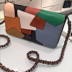 NWT Authentic Coach 75th Patchwork Dinky Bag